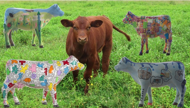 Have you herd? There's a moo-rvellous Art Trail in Cambridge